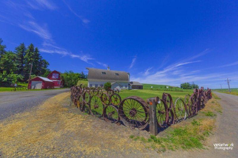 Khung canh lang que palouse e1585161784680 - Palouse và nét đẹp của vùng đồng quê miền Viễn Tây