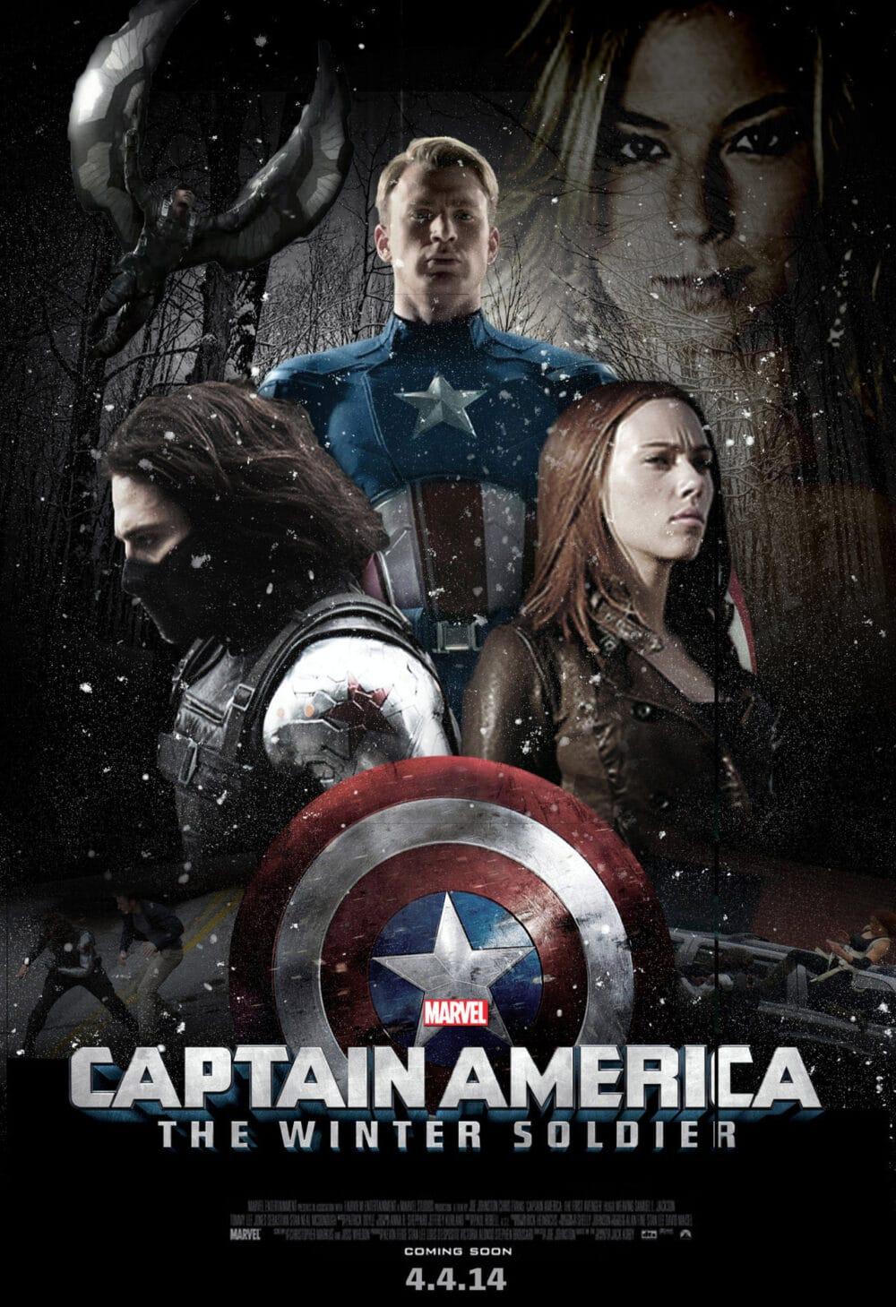 Captain America: The Winter Soldier, Trăn trở suy tư cùng Captain America: The Winter Soldier