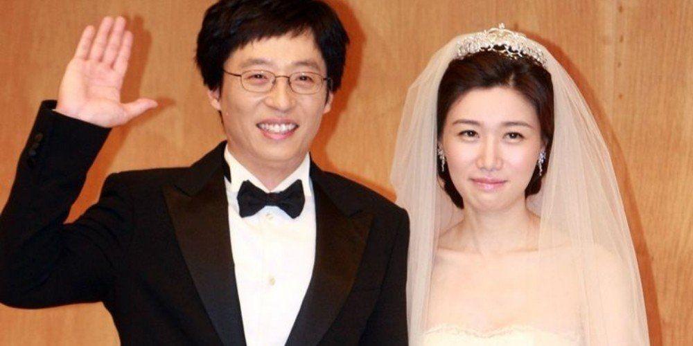 yoo jae suk va nguoi vo xinh dep na kyung eun - Yoo Jae Suk và hành trình trở thành MC Quốc dân