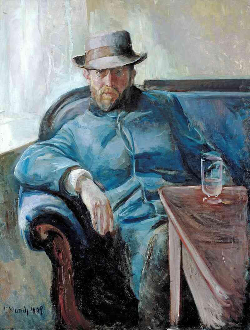 edvard munch hinh anh 4 - Edvard Munch: Khi nỗi đau biến thành tác phẩm nghệ thuật