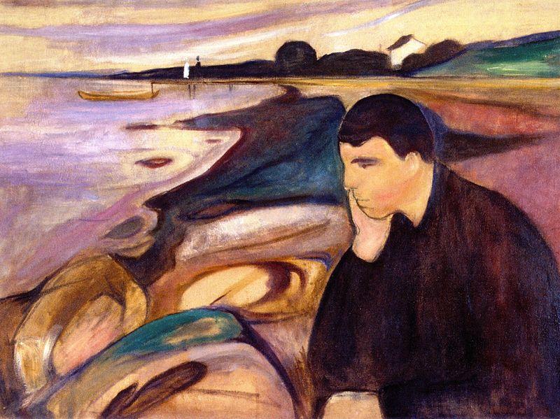 edvard munch hinh anh 7 - Edvard Munch: Khi nỗi đau biến thành tác phẩm nghệ thuật