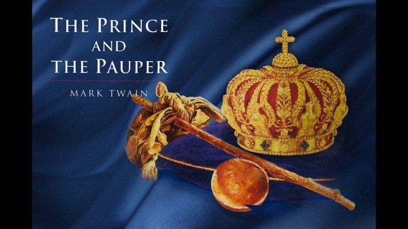 Hình minh họa tác phẩm Hoàng tử và chú bé nghèo khổ